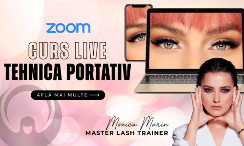 Curs ZOOM Live – Tehnica Portativ