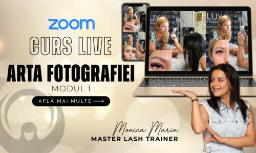 Curs ZOOM Live – Arta fotografiei – Modul I