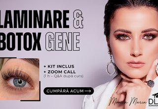 Curs Online – Laminare & Botox Gene