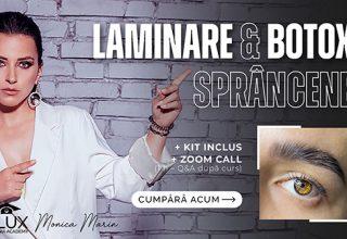 Curs Online – Laminare & Botox Sprâncene